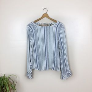 [June & Hudson] Striped Long Sleeve Top